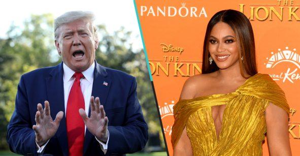 Qué raro... Donald Trump se burló de Beyoncé, JAY-Z y Bruce Springsteen