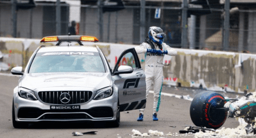 Bottas está en óptimas condiciones pese a respiración acelerada tras choque en el Gran Premio de México