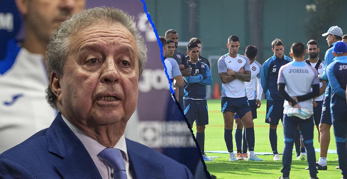 Víctor Garcés anuncia que Cruz Azul entrará en una etapa de austeridad