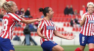 ¡Charlyn Corral marcó el gol del triunfo para el Atlético en el Derbi de Madrid!