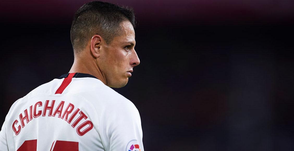 ¡'Chicharito' se estrenó en La Liga con un golazo al Getafe!