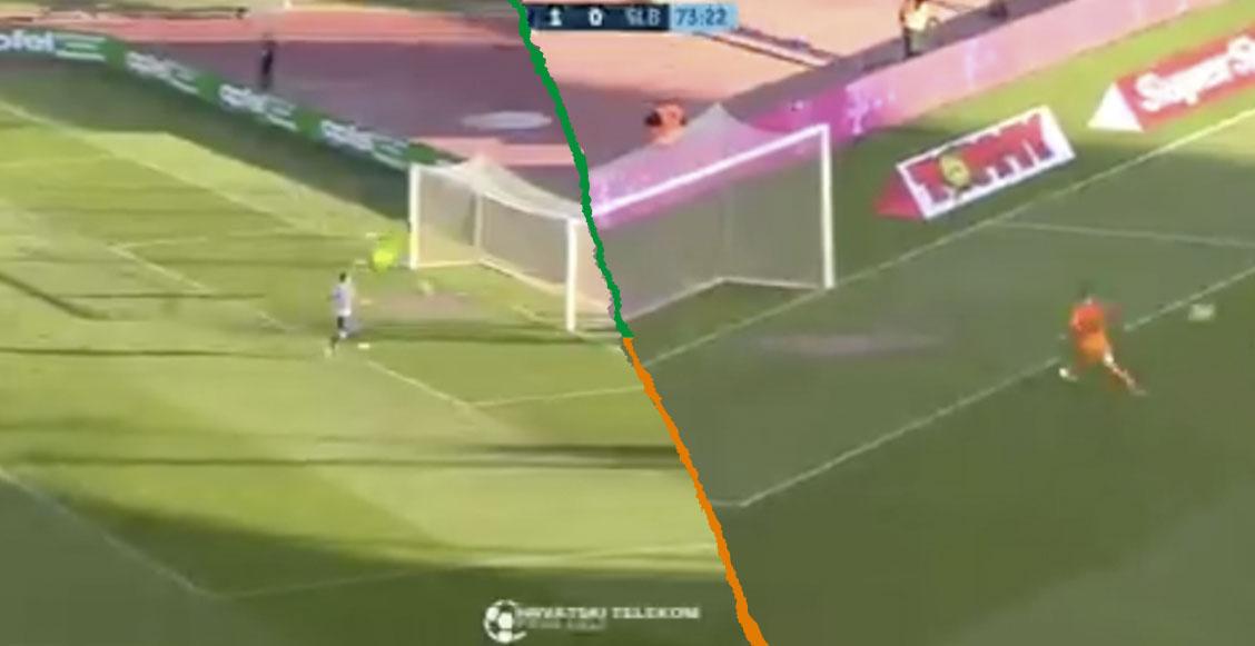 El 'gol fantasma' que terminó en ridículo y contragolpe letal en Croacia