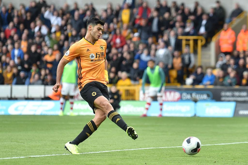 Raúl Jiménez cortó su mala racha sin gol en los Wolves ante el Southampton