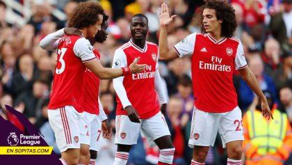 Arsenal regresó al 'Top 3' de la Premier League tras ganarle al Bournemouth