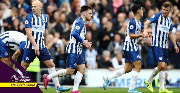 Brighton goleó al Tottenham, Lloris se lesionó y empieza una crisis en los 'Spurs'