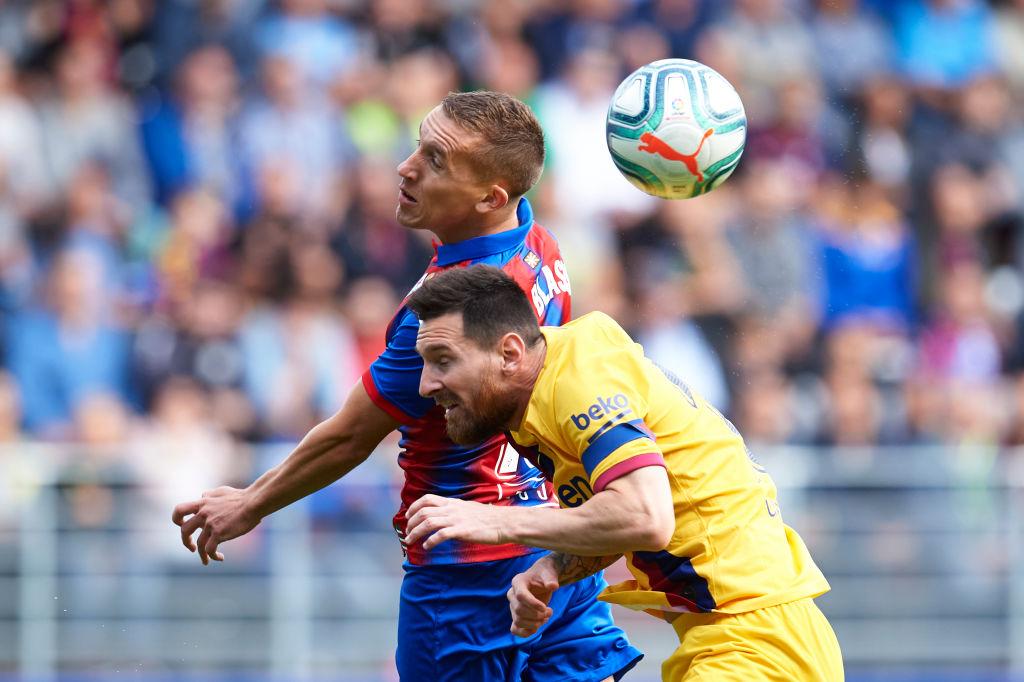 ¡Apareció el tridente! Griezmann, Suárez y Messi marcaron en la victoria sobre el Eibar