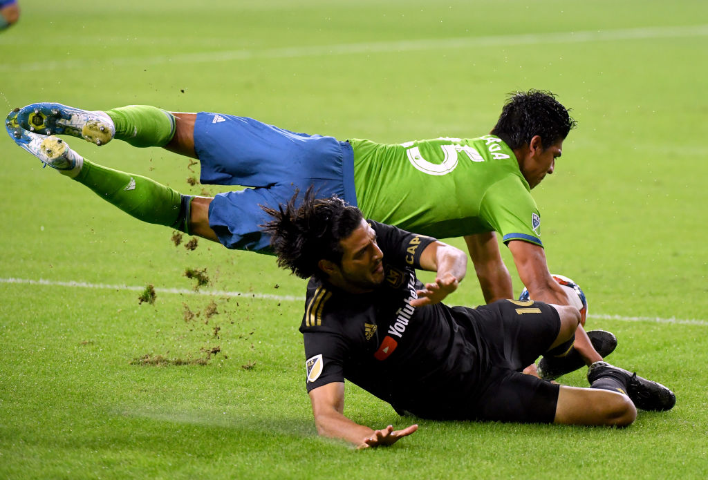 Fin del sueño: Seattle Sounders le propinó goleada a domicilio al LA FC de Carlos Vela