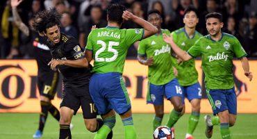 Seattle Sounders goleó al LA FC de Carlos Vela y los manda de vacaciones