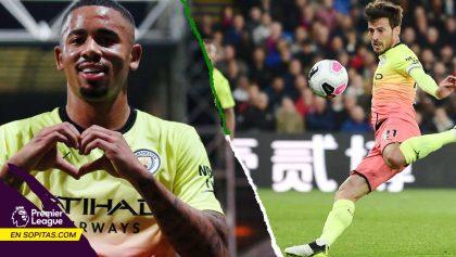 Los GOLAZOS de Gabriel Jesús y David Silva en la victoria del Manchester City