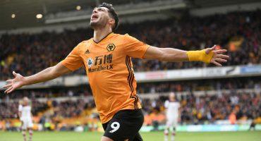 Raúl Jiménez volvió a anotar en la Premier en el empate entre Wolves y Southampton