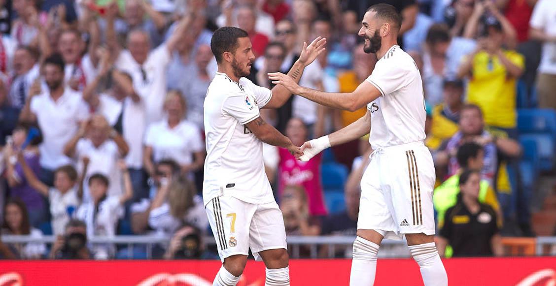 ¡Por poco! Real Madrid venció al Granada y son líderes de La Liga