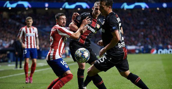 Atlético de Madrid sufrió pero con 'HH' de titular vencieron al Bayer Leverkusen