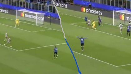 Este fue el primer gol del Atalanta en toda su historia en la Champions League