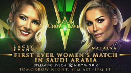 Así será la histórica pelea de mujeres que WWE - Crown Jewel pactó en Arabia Saudita