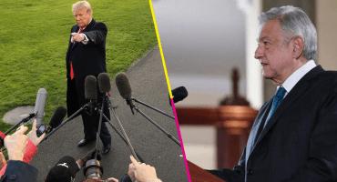 Trump ofrece ayuda a AMLO para terminar con el narco rápidamente; López Obrador responde