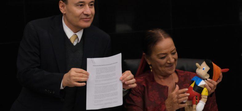 Alfonso-Durazo-pinocho-senadores
