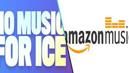 ¿Por qué cientos de artistas están bajando sus rolas de Amazon Music? #NoMusicForICE