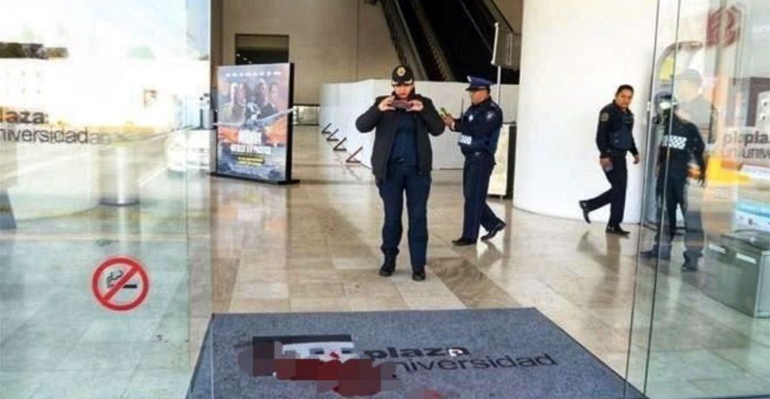 Asalto y balacera en Plaza Universidad
