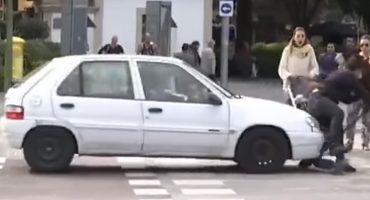 Ironía nivel: Atropellan a mujer tras dar plática sobre prevención de accidentes