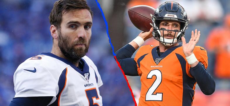 Broncos pierden a Joe Flacco por lesión y nombran titular a Brandon Allen