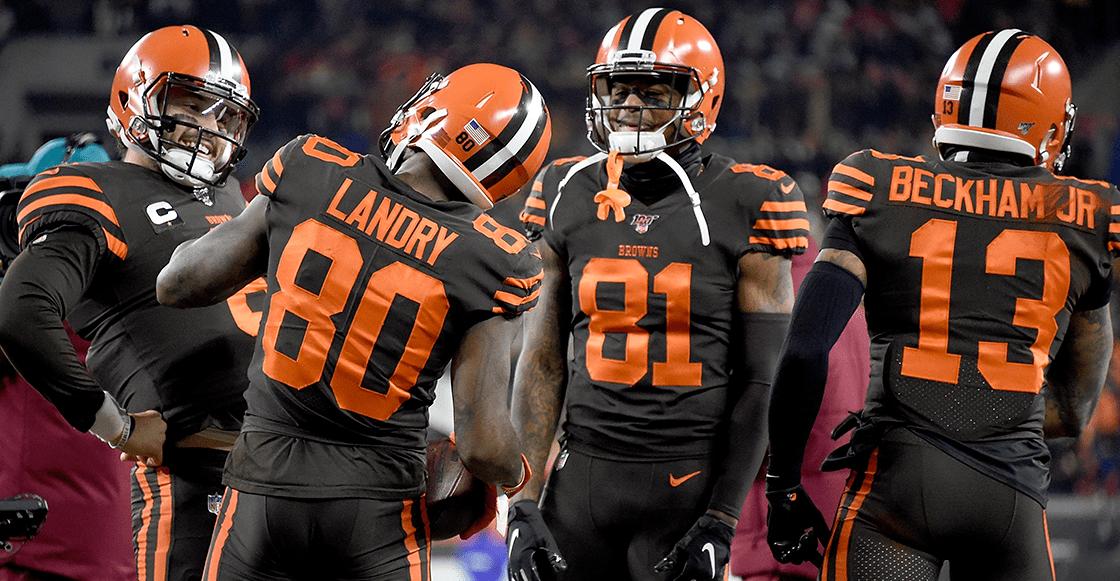 Pelea entre Myles Garrett y Mason Rudolph en NFL — Steelers vs Browns