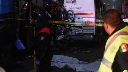 Choque en autopista México-Pachuca deja 11 muertos y 25 heridos