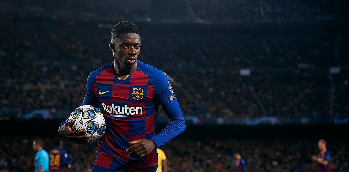 Adiós al Clásico: Barcelona confirmó nueva lesión muscular de Dembélé