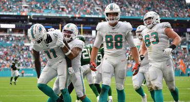 ¡Por fin! Dolphins ganan su primer partido de la temporada... a los Jets