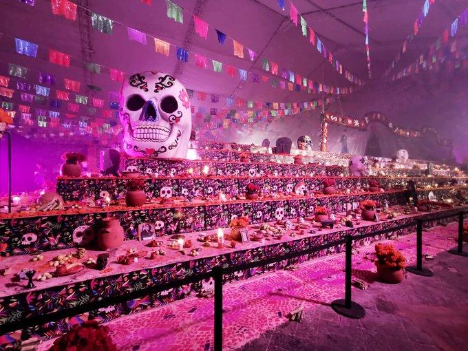 ¡Nuevo Récord Guinness! Tienen en Hidalgo la ofrenda de Día de Muertos más grande del mundo