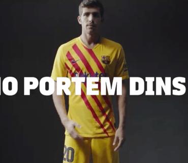Oficial: Barcelona presentó su cuarto uniforme con homenaje a la senyera