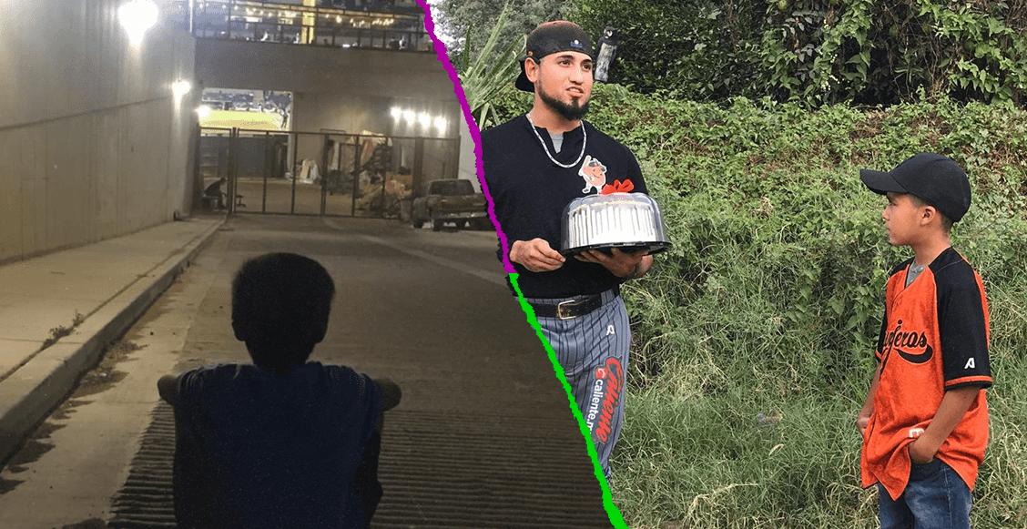 El gesto de los Naranjeros con el niño que veía sus partidos afuera del estadio