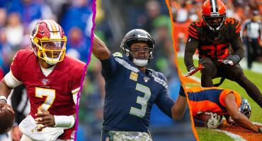El único invicto, la racha de los Redskins y el MVP: 7 puntos para resumir la Semana 9 de la NFL