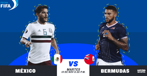 ¿Cuándo, cómo y dónde ver EN VIVO el México vs Bermudas?