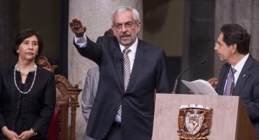 ¡Va de nuez! Enrique Graue Wiechers es reelegido como rector de la UNAM