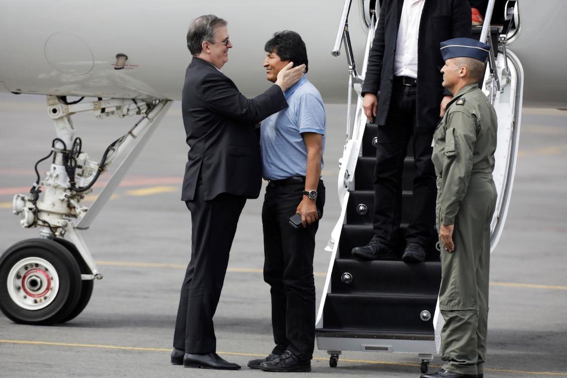 Evo-Morales-llega-a-méxico