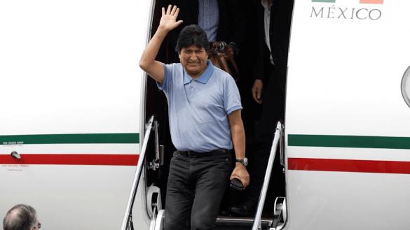 Evo-morales-llega-a-méxico-bolivia