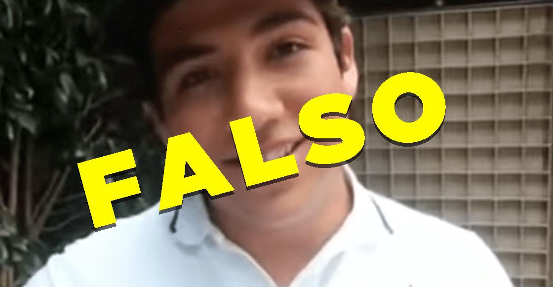 ¡Aguas! El video del hijo de Calderón diciendo que es Tumbaburros es falso