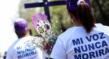 ONG convocan a la #CruzadaConNosotras y marcha en memoria de las víctimas de feminicidios