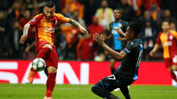 Galatasaray y Brujas empatan para clasificar al Real Madrid en Champions League