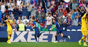 Levante le remontó al Barcelona en 2 minutos y acá te dejamos los goles