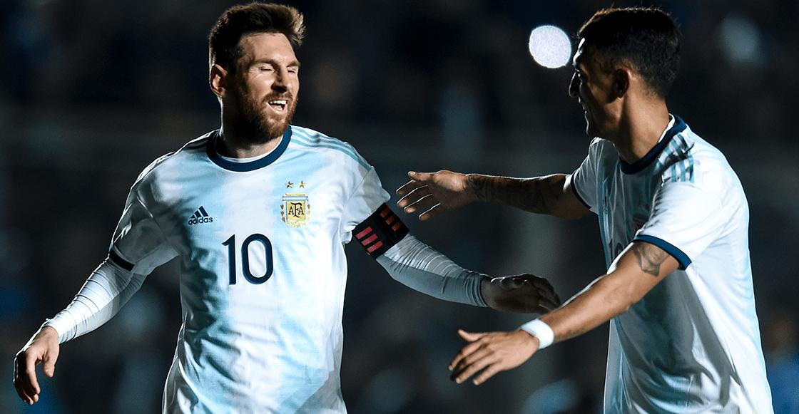 ¡D10S! Messi reapareció con Argentina marcando gol ante Brasil