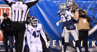 En noche de errores, Cowboys derrotaron a los Giants en New York