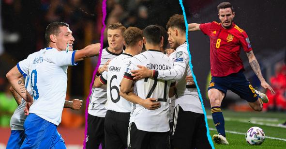 Los clasificados y los que jugarán repechaje de la Eurocopa 2020
