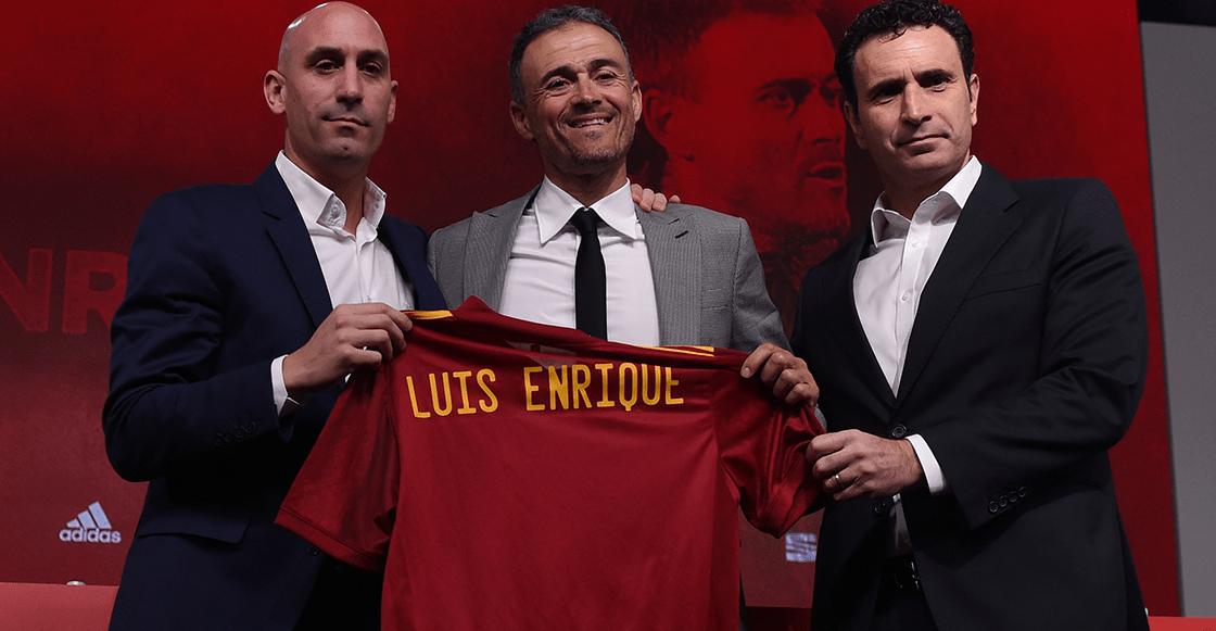 Luis Enrique fue presentado con España y le tiró con todo a Robert Moreno