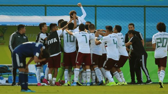 ¡A Cuartos! México derrotó a Japón en los Octavos de Final del Mundial Sub-17