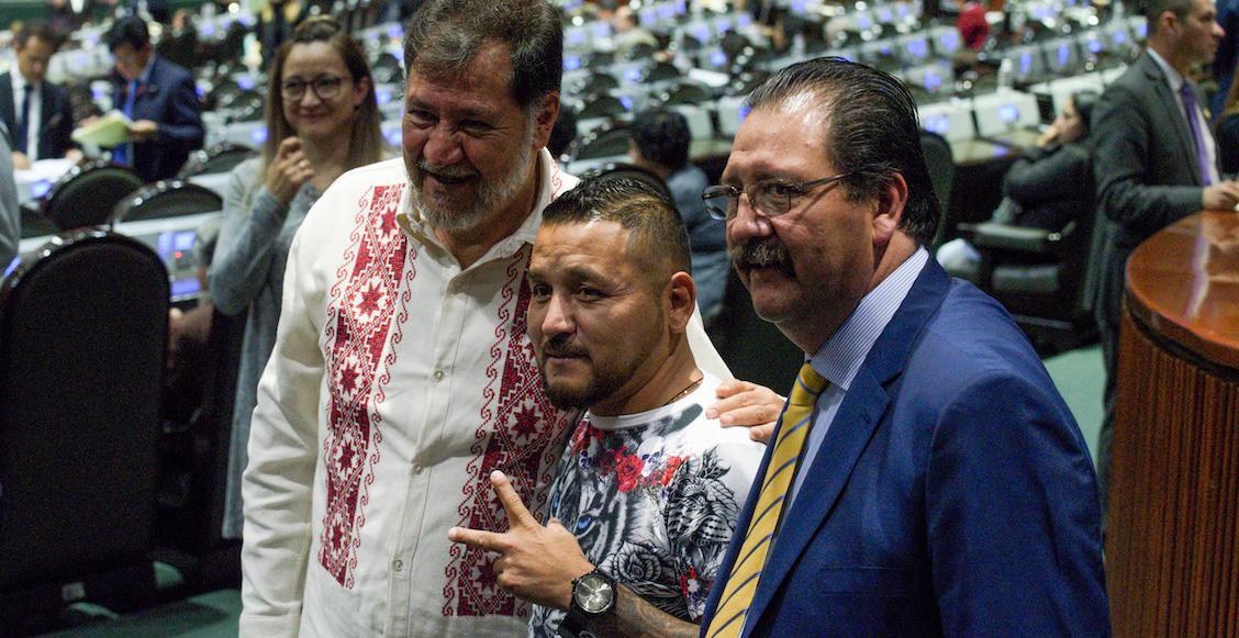 Mijis-Gerardo-Fernández-Noroña-Evo-Morales