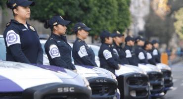 Mujeres policía acompañarán marchas en contra de feminicidios en CDMX