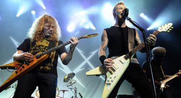 El mensaje de James Hetfield a Dave Mustaine de Megadeth tras ser diagnosticado con cáncer