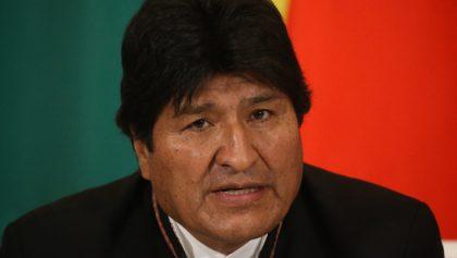 Evo Morales, de su primera elección