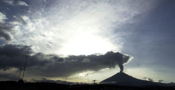 ¡Pendientes de Don Goyo! Se espera más caída de ceniza por explosiones del Popocatépetl